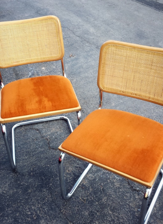 thrift store chairs